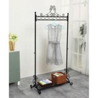 Buy cheap Metal Clothing Rack On Wheels, Racks For Sale, Metal Framed Cloth Rack from wholesalers