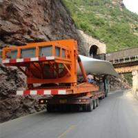 BLADE TRANSPORT DEVICE , Mountain Road Wind Blades Transporter , Wind Turbine Transport Vehicles Manufactures