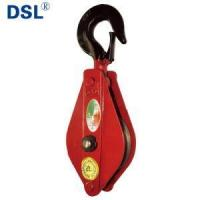 Drop Forged Super Alloy Steel Wire Rope Lifting Snatch Single Open Pulley Block with Hook. Manufactures