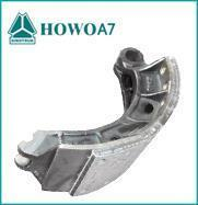 China New Sinotruk HOWO A7 Brake Shoe with Brake Lining AZ9761340106 for Sale on sale
