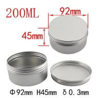 Buy cheap Colorful Red Aluminum Tin Jar Metal Container with Lid for Cosmetic Packaging from wholesalers