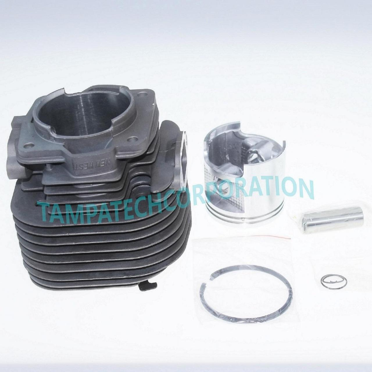 Buy cheap CARBURETOR CYLINDER HEAD PISTON KIT FITS STIHL 070 090 WITH RINGS PIN CLIPS 58mm CHAINSAW from wholesalers