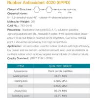 Rubber antioxidant 6PPD(4020) Manufactures