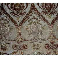 Buy cheap Flower pattern jacquard chenille fabric for upholstery Product No.:YH-tn102 from wholesalers