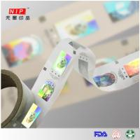 Buy cheap Hologram hot stamping foil 15micron hot stamping hologram foil label from wholesalers