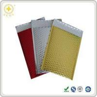 Buy cheap Shiny Jewelry Gift Packing Shockproof Metallic Bubble Mailer Envelope from wholesalers