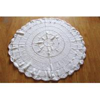 Buy cheap Round Blankets Hand Crochet Throw Rug Custom Rug from wholesalers
