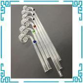Buy cheap 16cm,24cm Curved Glass Oil burners Glass Pipes from wholesalers