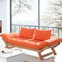 Buy cheap DayBed Three Seater Wooden Futon Lounger Sofa Bed from wholesalers