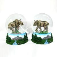 Buy cheap Polyresin wild animal water globe from wholesalers