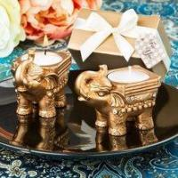 Buy cheap Fashioncraft 8697 Gold Good Luck Indian Elephant Candle Holder from wholesalers