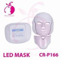 Red&blue&infrared LED PDT facial skin care mask CR-P166 Manufactures