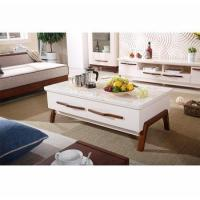 Buy cheap Living room furniture design sofa tea table marble center table marble coffee table from wholesalers