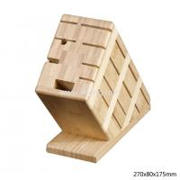 Buy cheap Bamboo Knife kitchen holder 8 inserts from wholesalers
