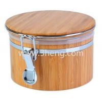 Wholesale Eco-Friendly Bamboo Jar For Storing Dry Goods from china suppliers