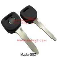 Buy cheap Car Keys Mazda Transponder Key Blank With Left Blade from wholesalers