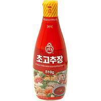 Wholesale Condiments Vinegared Red Pepper Paste for Sushi - 17.98oz from china suppliers