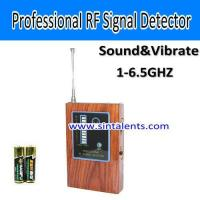 Buy cheap RFS-DT1, Signal detector, 1-6.5GHz,Sound, vibration alarm, AAA batteries from wholesalers