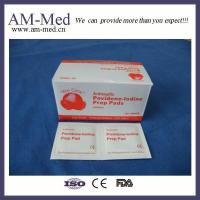 Buy cheap Wound Dressing Medical Povidone-iodine Prep Pad from wholesalers