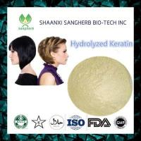 Wholesale Hair Treatment Hydrolyzed Keratin 69430-36-0 from china suppliers