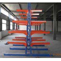 Buy cheap Long Span Heavy Duty Massive Plate-Type Cantilever Warehouse Racking from wholesalers
