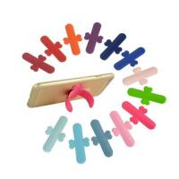 Wholesale Silicone Touch U Cell Phone Stand With 3M Sticker from china suppliers