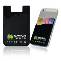 Buy cheap 3M Cell Phone Silicon Credit Card Holder/Smart Wallet product