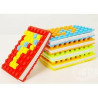 Buy cheap A6 DIY round and square blocks silicone book cover product
