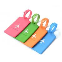 Buy cheap Silicon rubber /PVC luggage tag for Christmas sales promotion from wholesalers