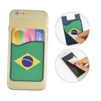 Wholesale Silicone 3M Smart Wallet With Screen Cleaner Wiper from china suppliers