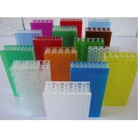 Buy cheap Reliable and Cheap Pc Plastic Honeycomb Sheet with SGS certificate from wholesalers