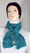 Wholesale Green and Blue Lacey Scarf from china suppliers