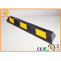 Wholesale Heavy Duty Truck / Car Rubber Wheel Stopper / Parking Wheel Stop 900*150*100mm from china suppliers
