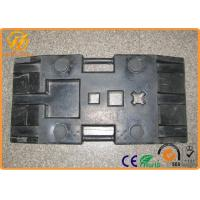 Wholesale Heavy Duty Black Rubber Sign Pedestal Base with 28 kg Weight 800 x 400 x 120 mm from china suppliers