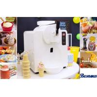 Buy cheap 300 W Power Home Frozen Yogurt Machine For Ice Cream / Beer Slush , White Plastic Shell from wholesalers