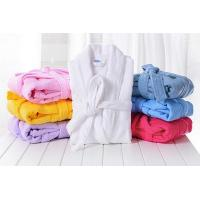 Buy cheap Thick Cotton Terry Cloth Robes Customised, Unisex Adults Bathrobes Sets Supplier from wholesalers