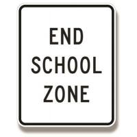 Buy cheap End school zone sign S5-2 from wholesalers