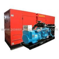 Buy cheap 50HZ / 60HZ Euro Portable Gas Generators Prime Power Standby 450kva from wholesalers