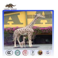 Buy cheap Animatronic Life-size Animals Giraffe Model from wholesalers