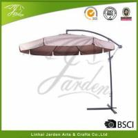 Buy cheap 3M Deluxe Adjustable Offset Cantilever Hanging 10' Patio Umbrella with Cross Base and Crank from wholesalers