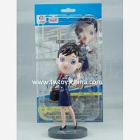 Buy cheap 3D Cartoon Character Human Figurine Plastic from wholesalers