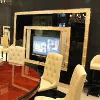 Buy cheap Wooden TV Decorative Wall Cabinets with Carved Door Panel from wholesalers