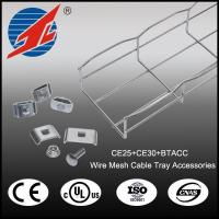 Buy cheap The Bascial Steel Wire Mesh Cable Tray Accessories for Outdoor or Indoor Catalogue from wholesalers