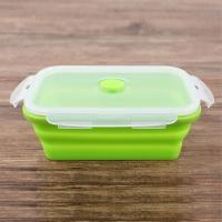 Wholesale Factory direct manufactured food grade silicone lunch box/fast food box from china suppliers