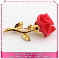 Buy cheap Wholesale brooch bouquet, low price flower brooch from wholesalers