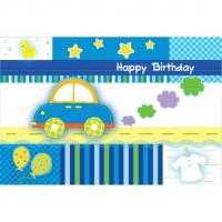 China TOY CAR - 54 X 72 TABLECOVER on sale