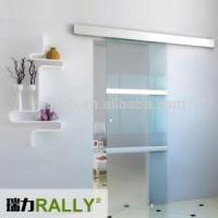 Buy cheap Framless Aluminum Material Sliding Door Hardware With Pearl Silver Finish from wholesalers