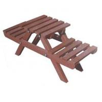 Buy cheap WPC Garden Picnic Table and Chair Set for 2 People from wholesalers