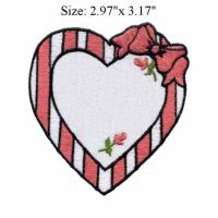 Buy cheap Custom Appliqued Fabric Iron on Embroidery Badges with Merrow|Heat Seal Border from wholesalers