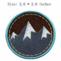 Custom Martial Arts Supplies Martial Arts Hunting and Fishing Patches Embroidered Emblems